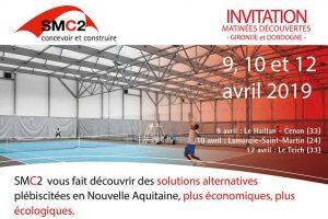 Invitation aux Matinees Decouvertes SMC2 en Nouvelle Aquitaine du 9 au 12 avril 2019